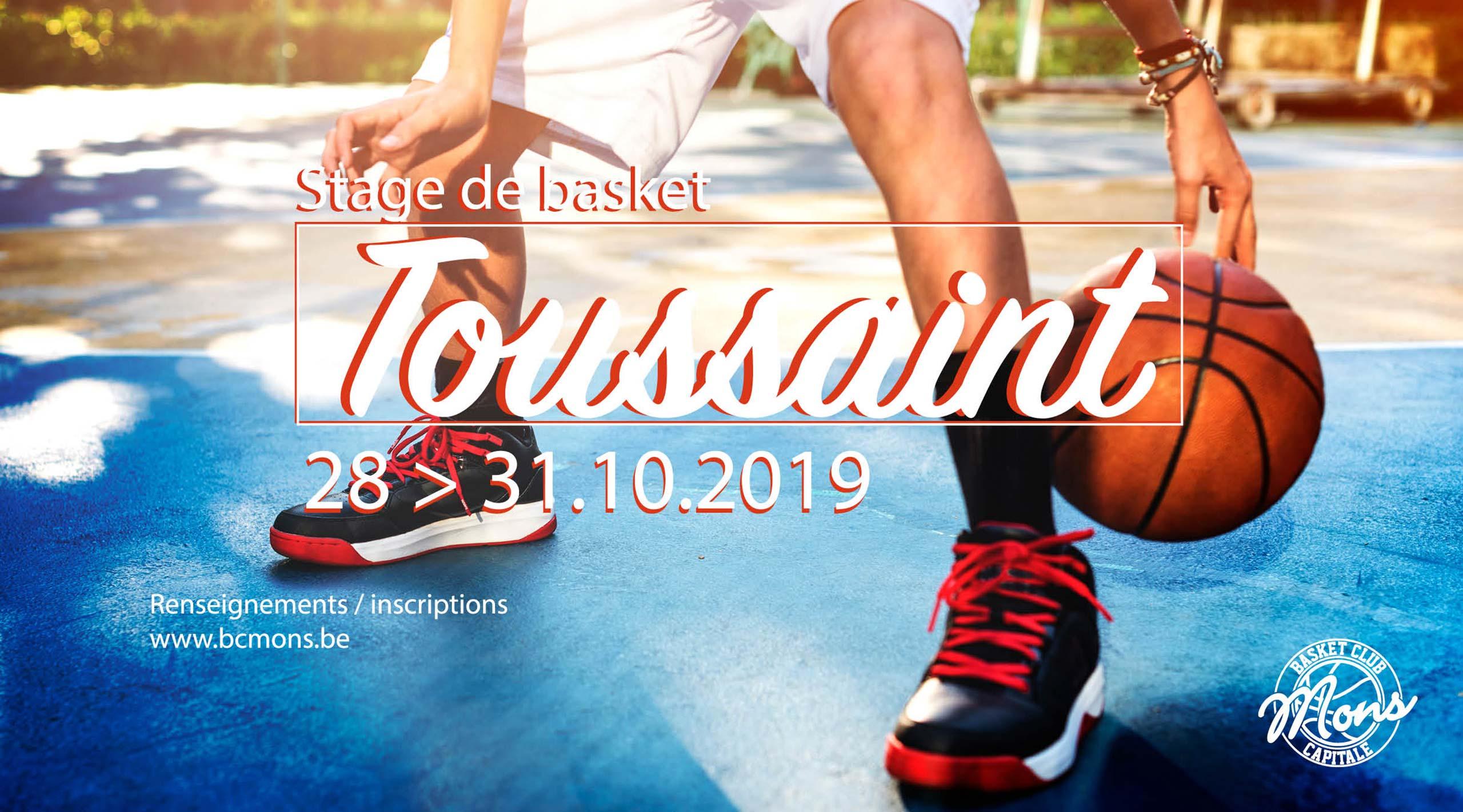Stage de toussaint 2019
