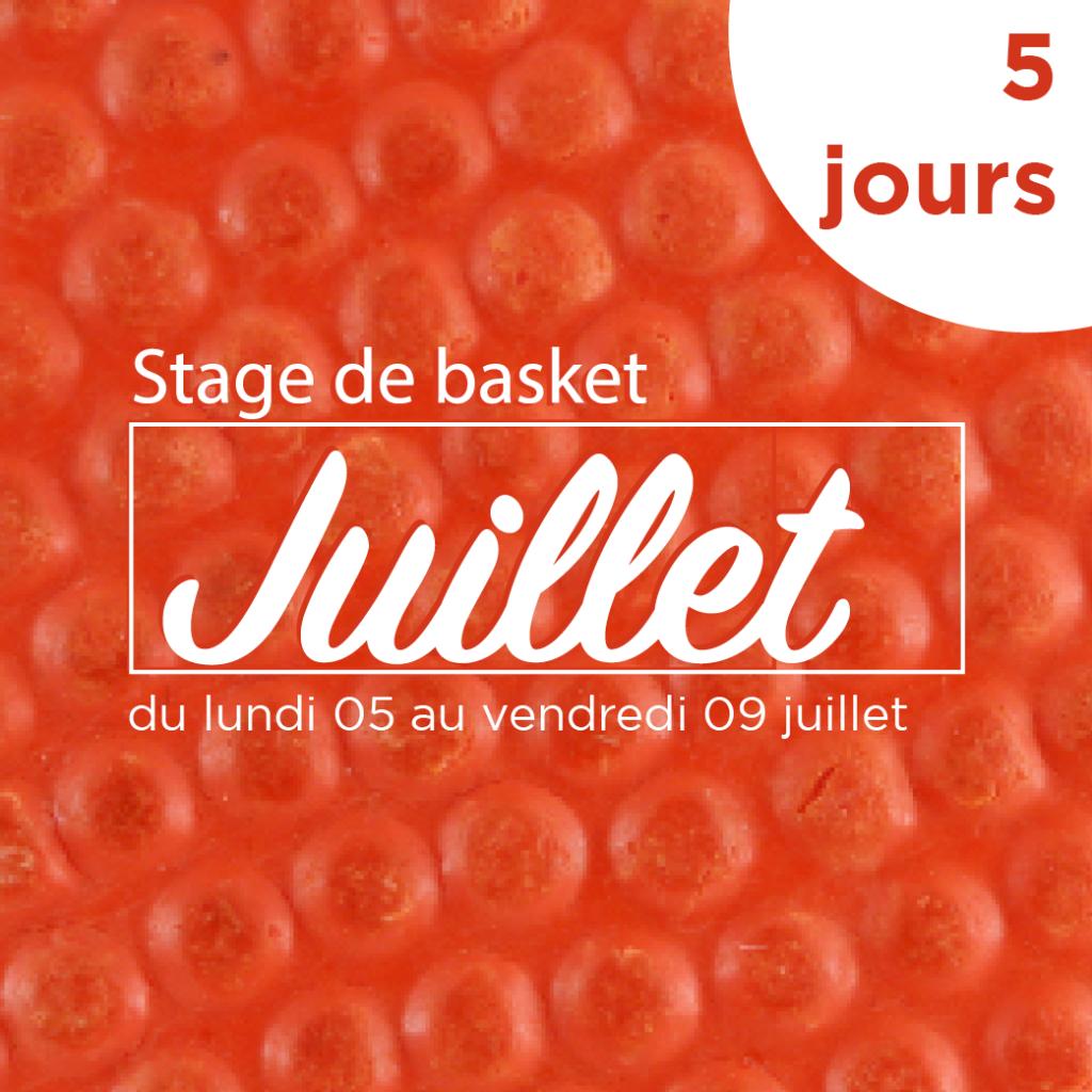 Stage de Basket Juillet
